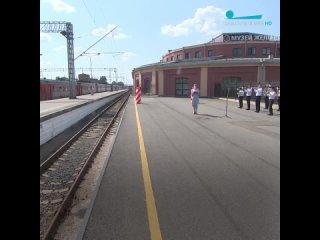 Новый экспонат Музея железных дорог России