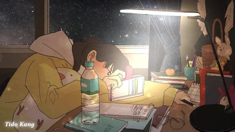 Tido Kang 공부할때 듣는 음악 모음♬ 집중력 높이는 음악 수면유도음악 델타파 잠잘때 듣는 아련한 슬픈 잔잔한 음악 1시간