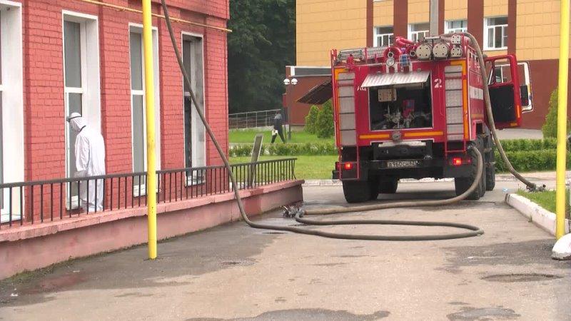 СК возбудил дело о пожаре в реанимации рязанской больницы
