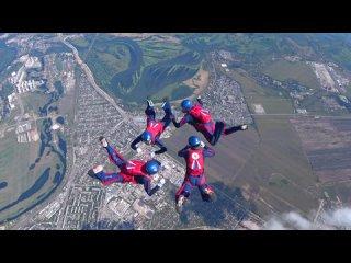 Чемпионат Вооруженных Сил РФ по парашютному спорту в Самаре