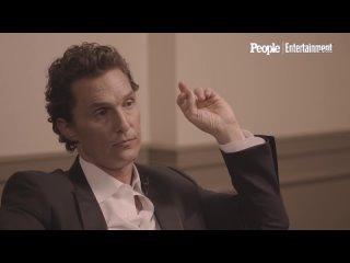 Matthew McConaughey Talks About How He Met His Wife