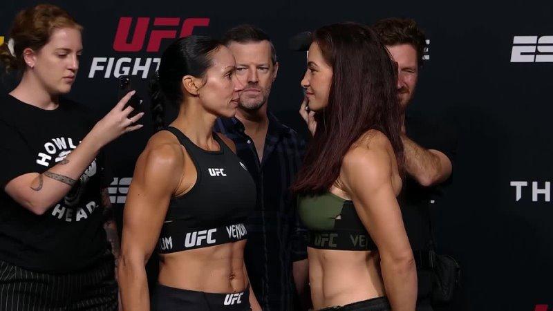 Битва взглядов перед UFC Вегас 31 Рено vs Тэйт
