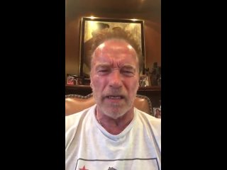Arnold - President @realDonaldTrump, remember, America first.