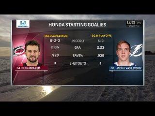 NHL 20/21, SC: Round 2, Game 3. Carolina Hurricanes - Tampa Bay Lightning [03.06.2021, USA]