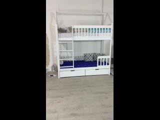 Двухъярусная кроватка Baden