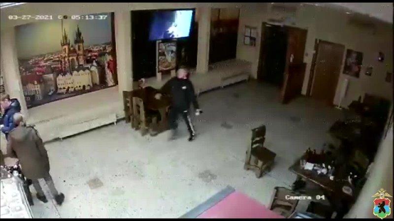 Розыск нападение в баре