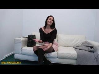 Сексуальную мамочку в чулках трахают на кастинге  (Порно Sex трах Fuck Домашнее porno Любительское teen XXX young домашка)