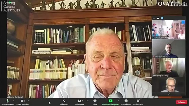 Dr Peter McCullough on with Reiner Fuelmich June 11