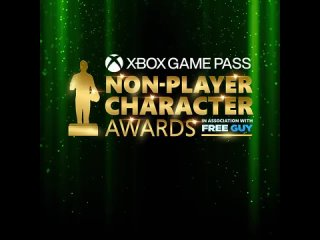 Xbox Game Pass Non-Player Character Awards