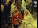 The Royal Wedding of The Duke of Kent Katharine Worsley at York Minster 1961