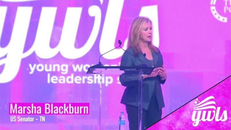 TPUSA · Senadora patriota Marsha Blackburn en la Cumbre de Liderazgo para Mujeres Jóvenes 11