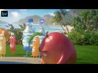Да, это настоящий рекламный ролик, который показывали по ТВ