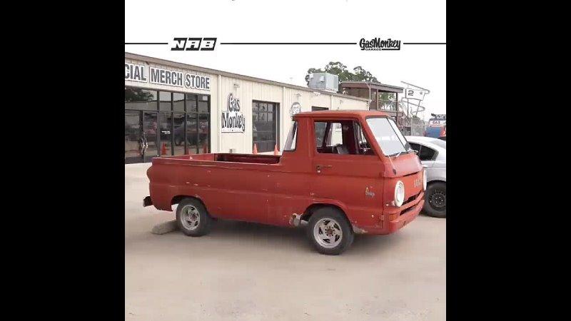 Gas Monkey Garage Dodge A100 tuning options Hot Wheels
