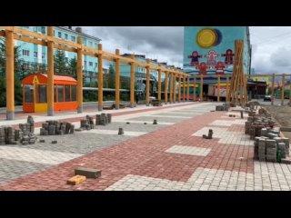 Обустройство площади «Притяжение Таймыра» близится к завершению