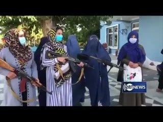 Женские отряды самообороны в провинции Джаузджан