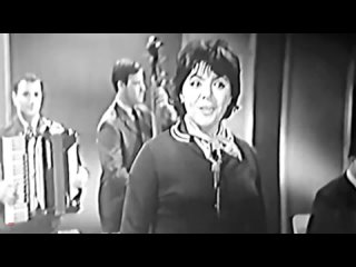 Поёт Майя Кристалинская 1964 год