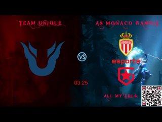 Team Unique vs AS Monaco Gambit Dota 2 Champions League 2021 Season 2