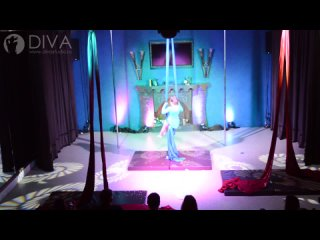 Танцы на полотнах (цирковые полотна), ученица студии Вероника, хореограф Дарья Евстафьева