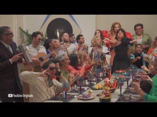 Съёмки музыкального видео на песню «Don't Go Yet»