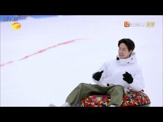 [RUS SUB] Ван Ибо и братья едут кататься на бордах и лыжах! Зимний выпуск 20210110 Day Day Up 天天向上