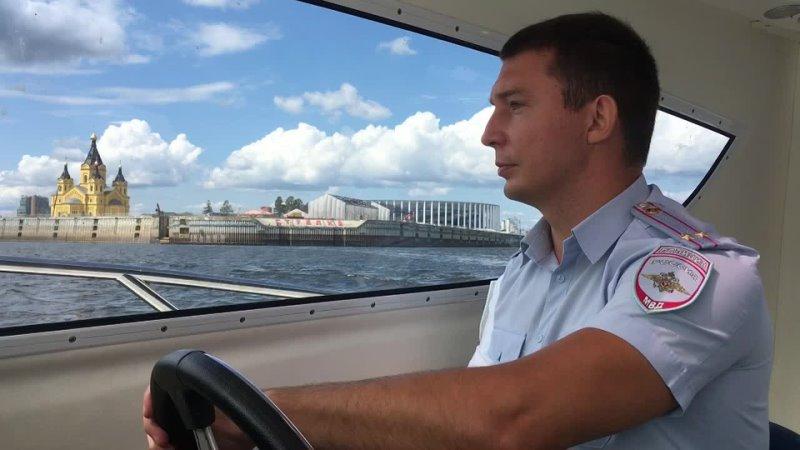 Алексей Владимирович Турутин ЛОП в речном порту г Нижнего Новгорода