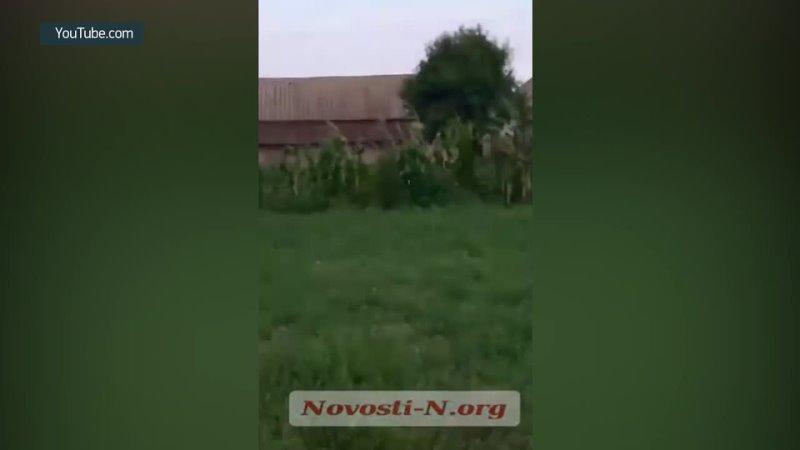Криворукие ВСУшники во время учений Cossack Mace 2021 на Николаевщине выстрелили по населенному пункту