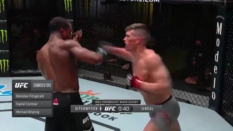 Самые яркие моменты турнира UFC Вегас 17 Томпсон vs Нил