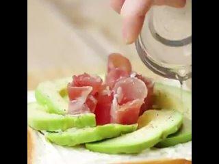 цветочные сендвичи