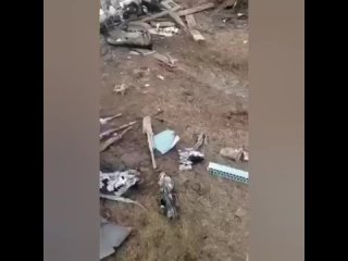Видео с места крушения в Алайском районе Ошской области Киргизии вертолета  Ми-8МТ Камчыбека Ташиева.