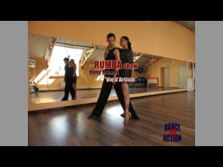 Алексей и Анна (pro-am) - RUMBA Show ТСК Территория Танца латина