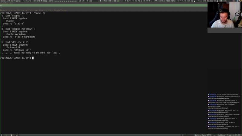 EN RU Making Diablo clone in LISP S02E03 Making new release