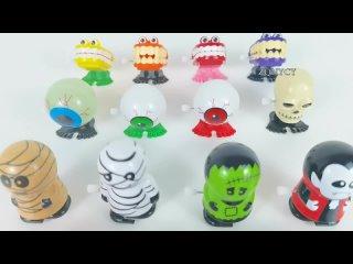 Креативная заводная игрушка забавный призрак тыква глаз прыжок