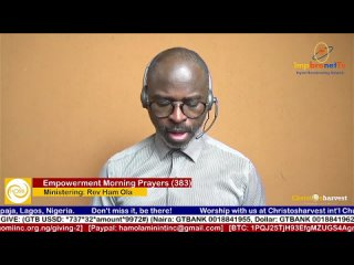 """Empowerment Morning Prayers Live"" (Day 383) by Rev Ham Ola"