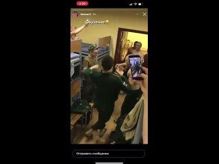 кал-казцы обучают толерантных россиян лезгинке