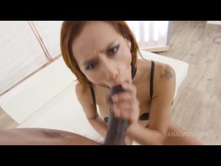 [Anal Maniacs by Lady Dee] Veronica leal intense DP with monster cocks goes wet