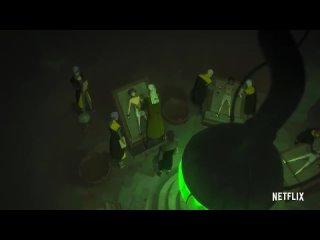 Ведьмак. Кошмар Волка   Официальный трейлер  