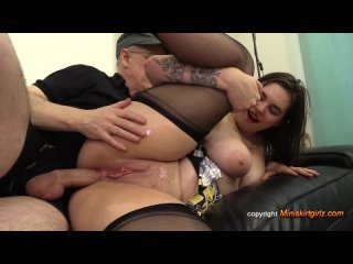 chubby big tit milf anal