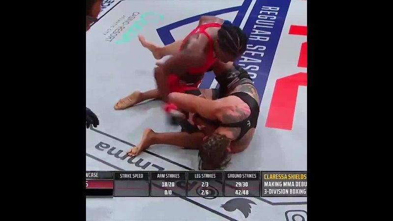 Мультичемпионка по боксу Кларисса Шилдс успешно дебютировала в ММА против Бриттни Элкин 1