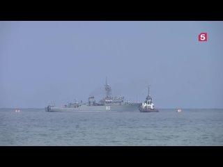 Генеральная репетиция парада в честь Дня ВМФ состоялась в Сирии