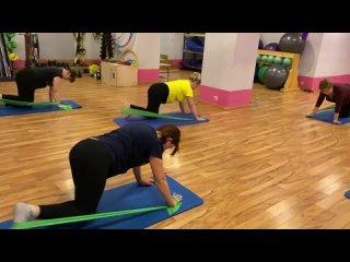 Здоровая спинаПартерная гимнастика