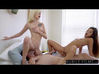 NubileFilms - Kiara Cole Gives Vina Sky A Surprise Birthday Threesome