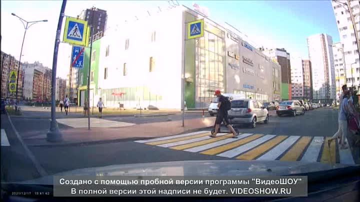 Вчера, примерно в 18:40 столкнулся с вопиющим случаем. В Кудрово в районе 5-го дома по Столичной, со...