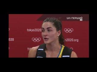 Марина Килипко. Спортсменка, представляющая Украину, со слезами на глазах рассказывает, что в делегацию не включили ее тренера