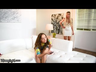 Hot MILF Nina Elle Wants Her Stepdaughters Attention, She Rides Hard Her Pussy