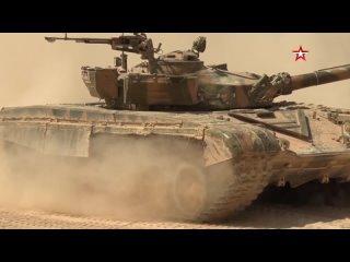 Сирийские военные готовятся к состязаниям «#ТанковыйБиатлон» на #АрМИ