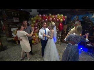 Видеосъёмка свадьбы, 8-904-996-79-29, в баре Телега, Киселёвск.MP4