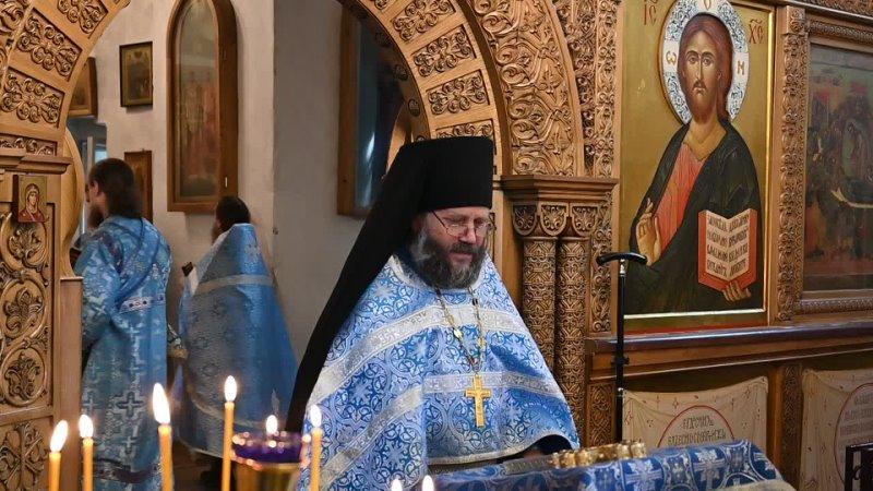 Проповедь им Зосимы Милькина Святогорский монастырь Псковская обл 08 08 21