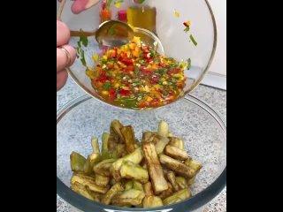 Вкусные хрустящие баклажаны