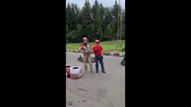 Видео от Слепые гонки