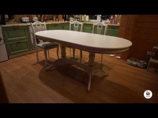 Стол Кухонный Версаль Слоновая кость с патиной